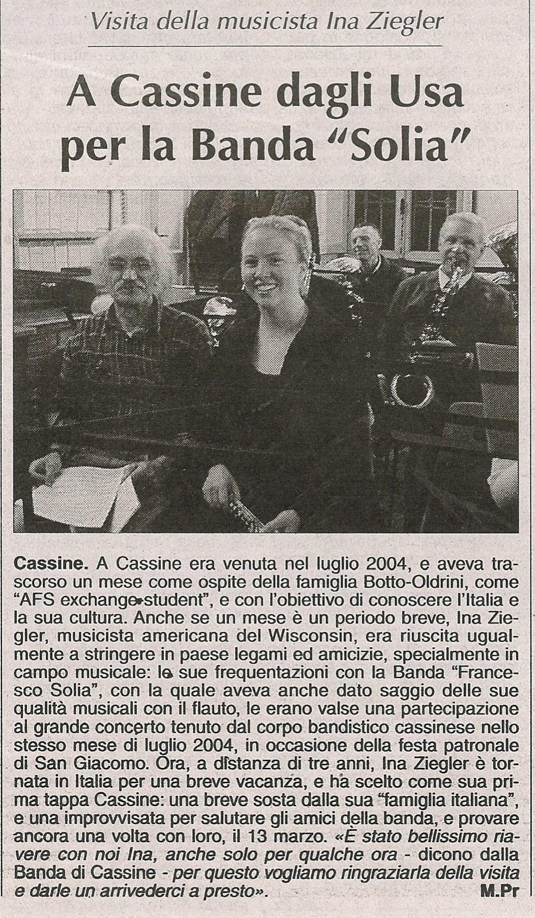 """da """"L'Ancora"""" - 25 marzo 2007"""