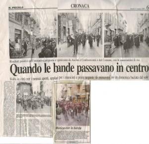 """da """"Il Piccolo"""" 17 marzo 2003"""