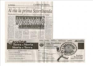 """Da """"Il Piccolo"""" 20 giugno 2001"""