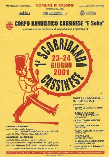locandina prima scorribanda2001