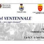 """1991 – 2011 – A Cassine soffiano i """"Venti di Banda"""": IL CONCERTO DEL VENTENNALE"""