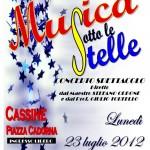 """Presentata la diciannovesima edizione di """"MUSICA SOTTO LE STELLE"""""""