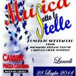 MUSICA SOTTO LE STELLE 2014