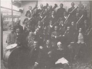 """Banda """"Santa Cecilia di Cassine"""" - 1911"""