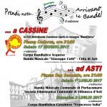 "Sabato 17 Giugno, la Scorribanda Cassinese ospita ""Band@mica"""