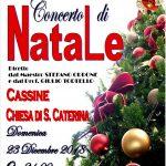 Domenica 23 dicembre, ventunesimo CONCERTO DI NATALE del Corpo Bandistico Cassinese.